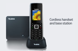 Hosted phone systems cordless
