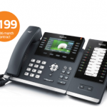 Hosted phone system pricing Reception concol